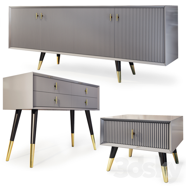 Chest of drawers, TV cabinet and nightstand Classi. Nightstand, tv stand by Yildiz Mobilya