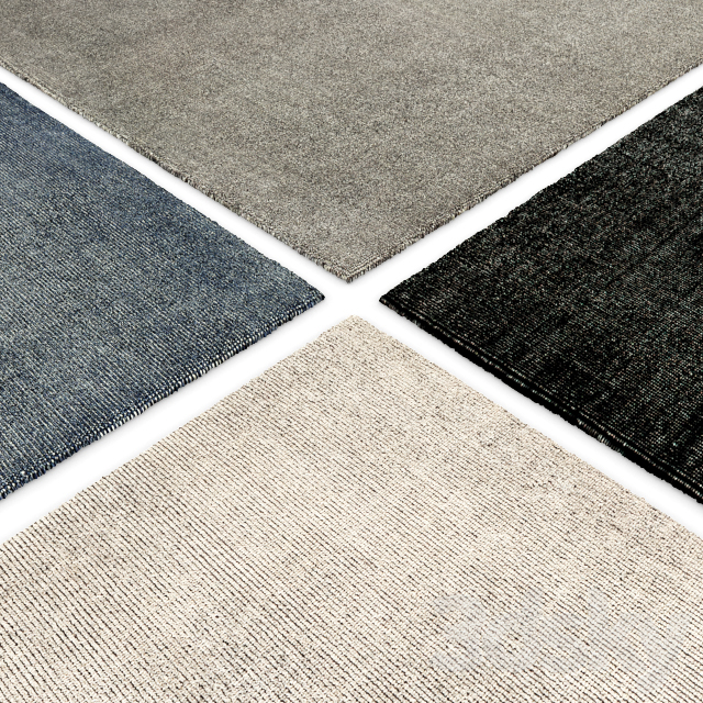 Izar Handwoven Wool Rug RH Collection