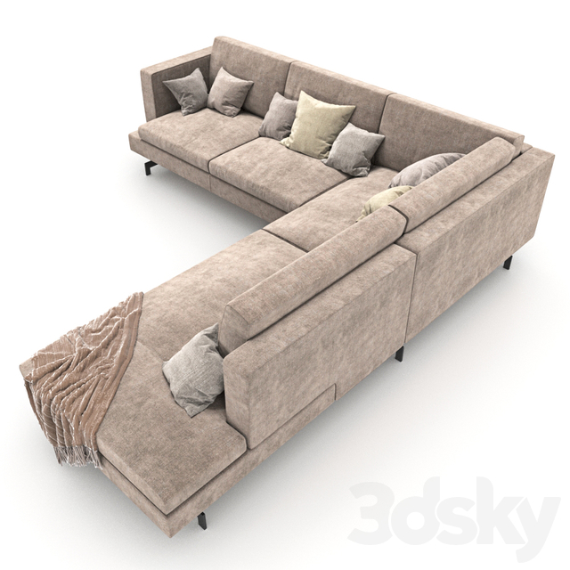 Sofa 105 - Natuzzi_Jeremy