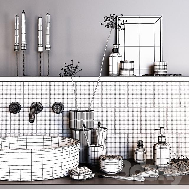 H & M_Decorative_bathroom_set