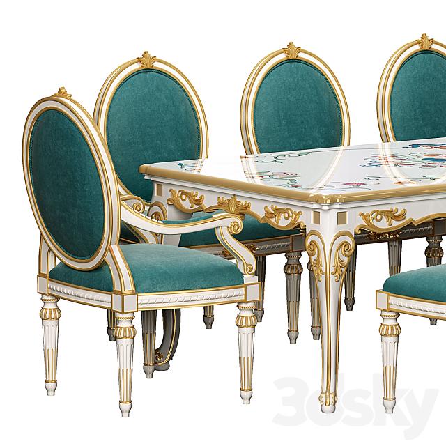 Andrea Fanfani Pranzo dining table