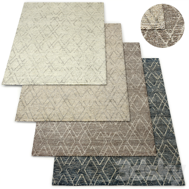 Andera Hand-Knotted Wool Rug RH Collection