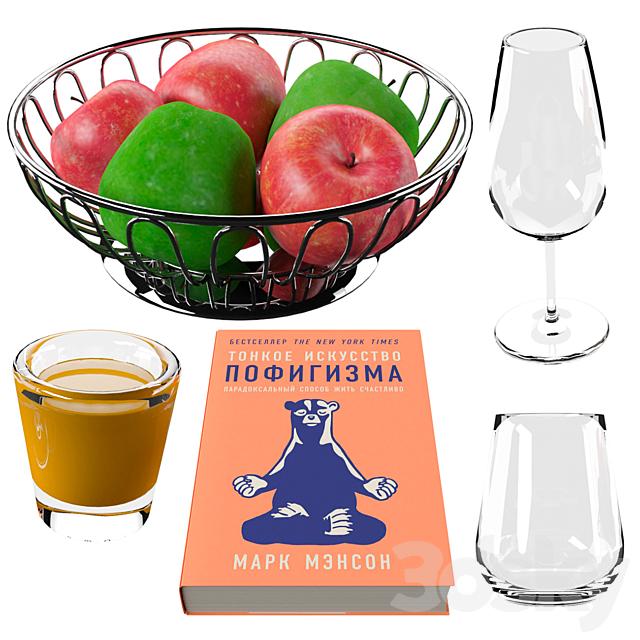 Seth - apples book goblets