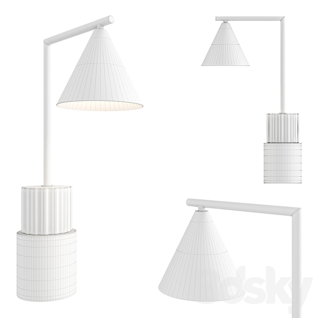 Skasen Table Lamp by Made