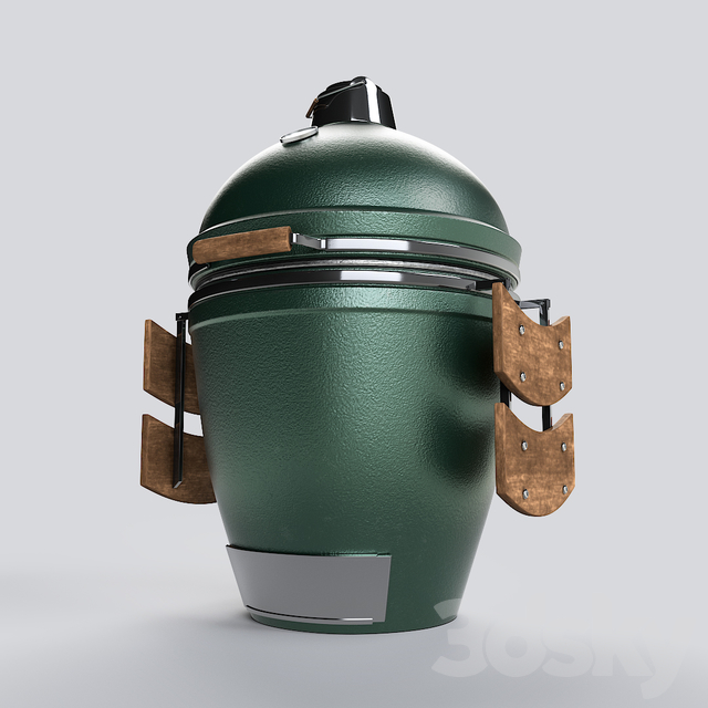 Outdoor Barbecue Grill Big Green Egg