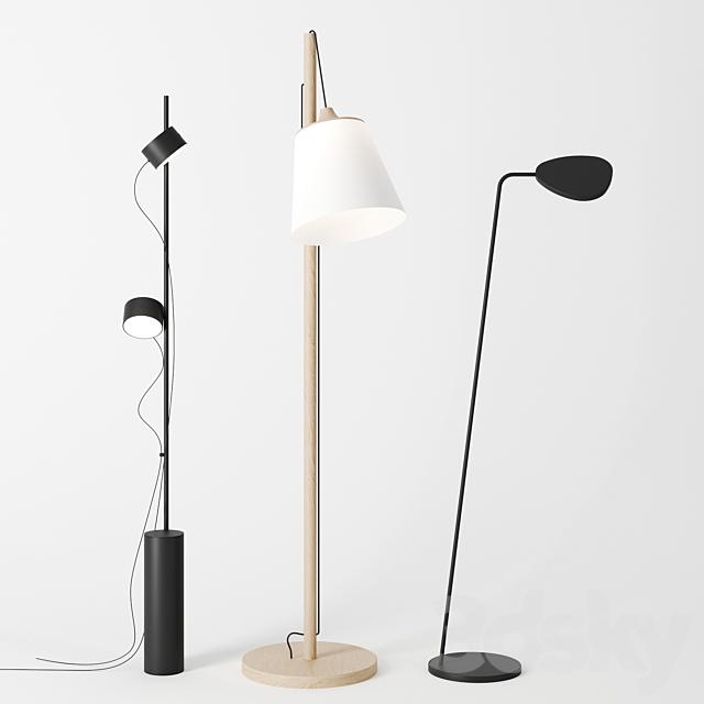 floor lamps by Muuto