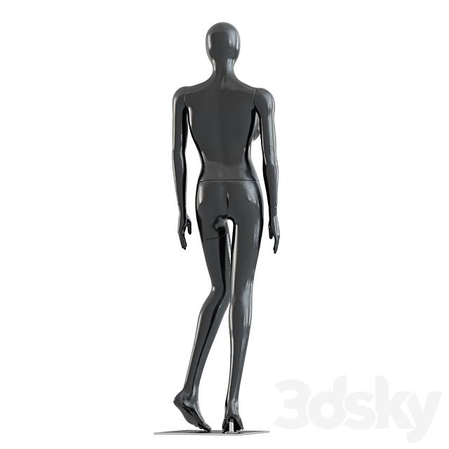 Female Black Mannequin 54