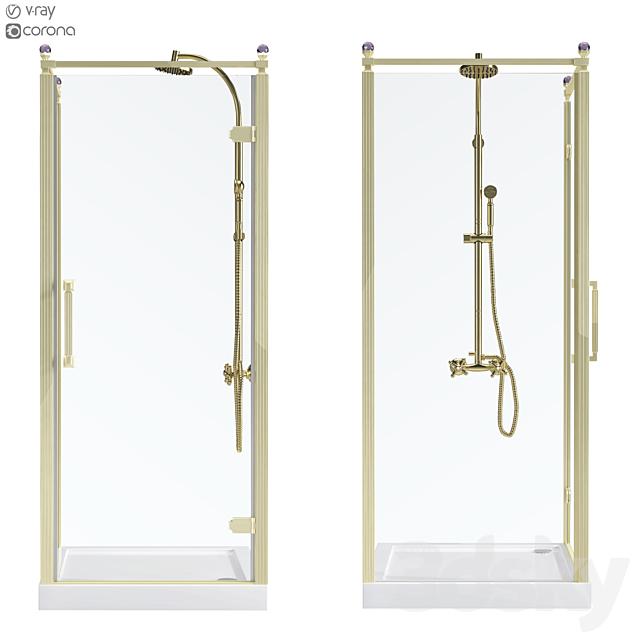 Shower corner Beta Cube Classic NBB1221 90x90
