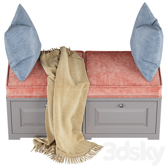 Cupboard with pillows 003