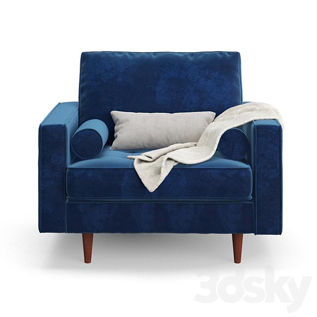 Wayfair rouleau armchair