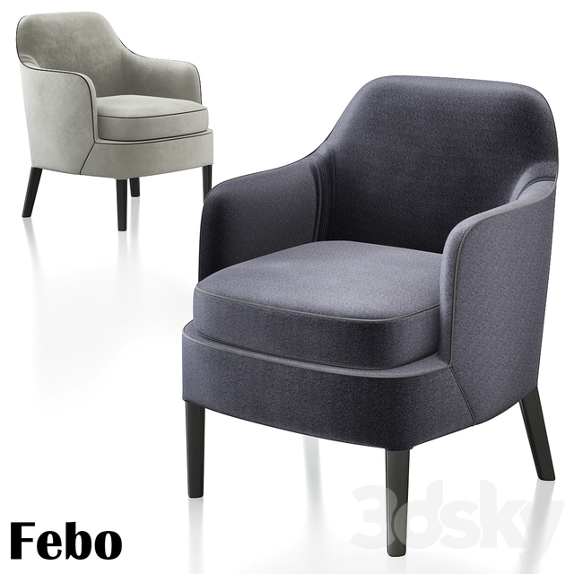 Febo Chairs Antonio Citterio