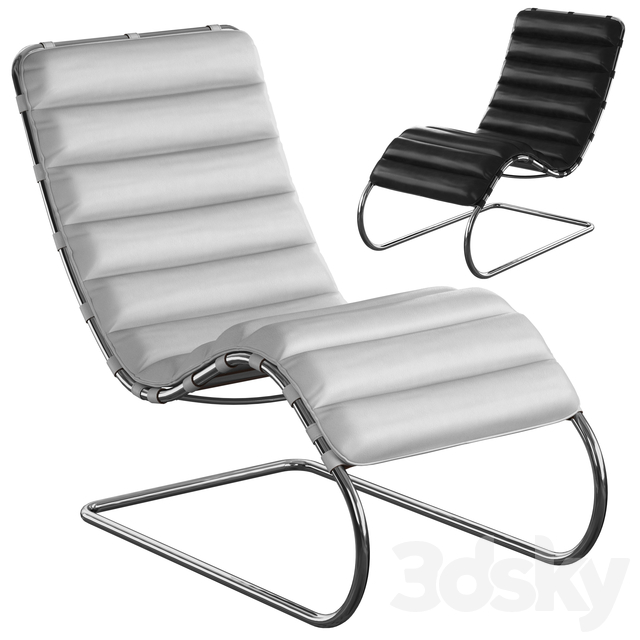 Knoll Mr Lounge, Chaise Longue