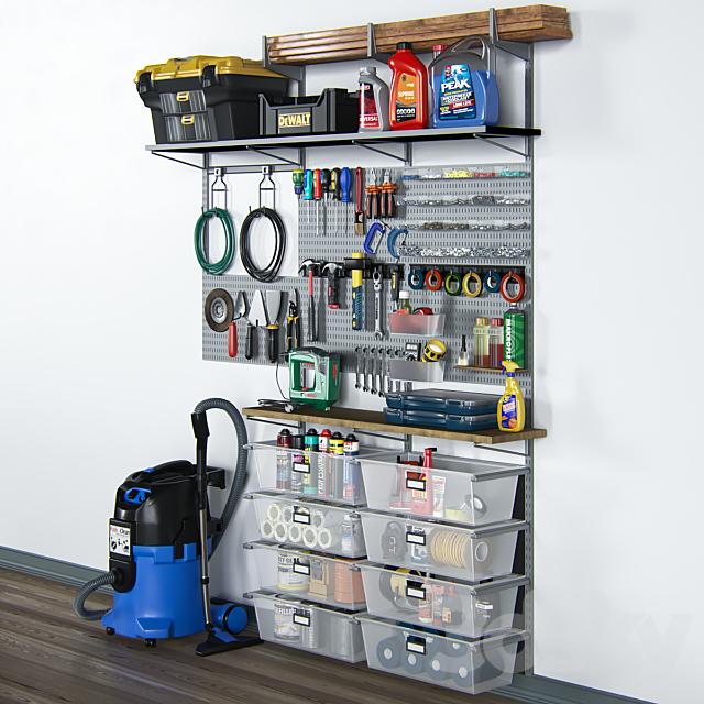 garage tools set 11