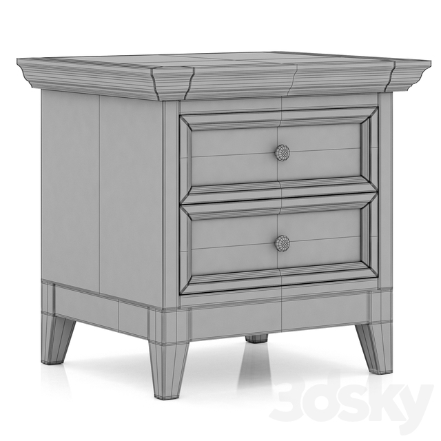 Dantone Home bedside table