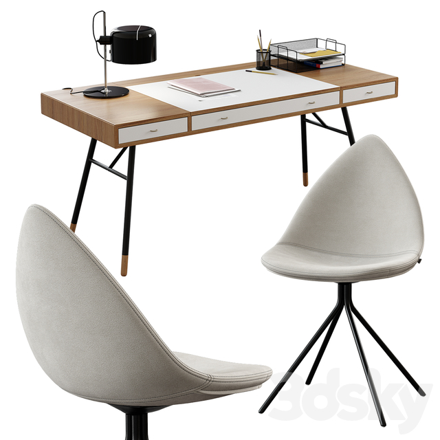 BoConcept / Cupertino Table + Ottawa Chair