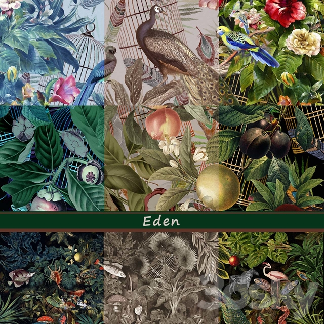 Designer Wallpaper Eden pack1