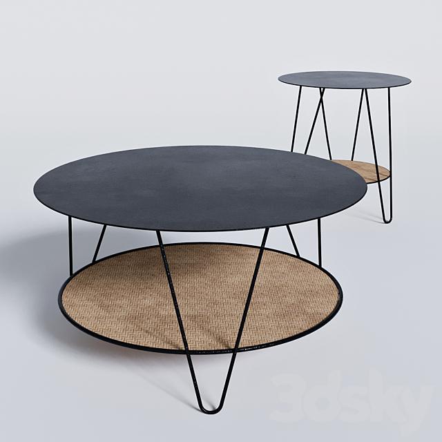 3d Models Table Tables La Redoute Rosali