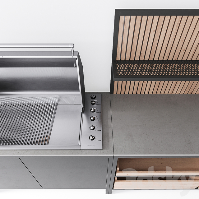 Kaufmann GrillKitchen Block Outdoor Kitchen