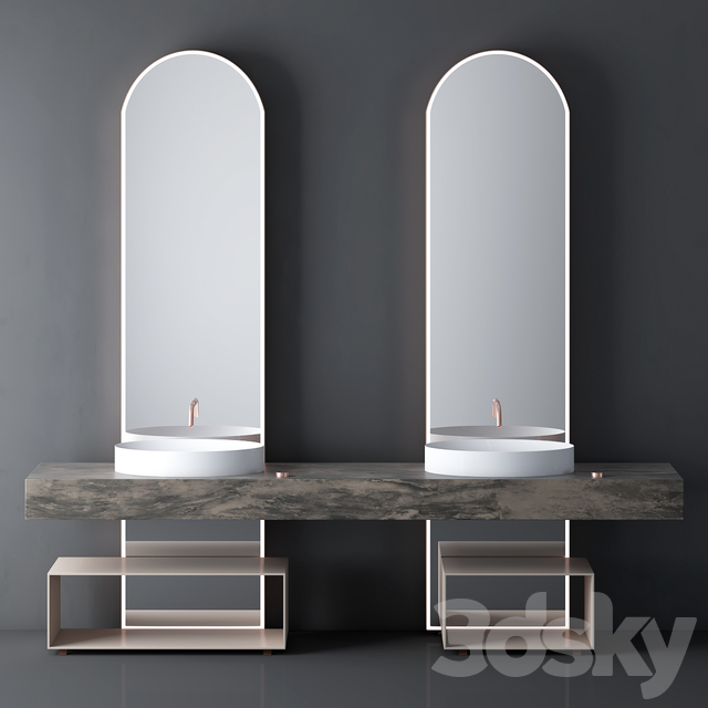 Modern Bathroom Cabinet | No. 048