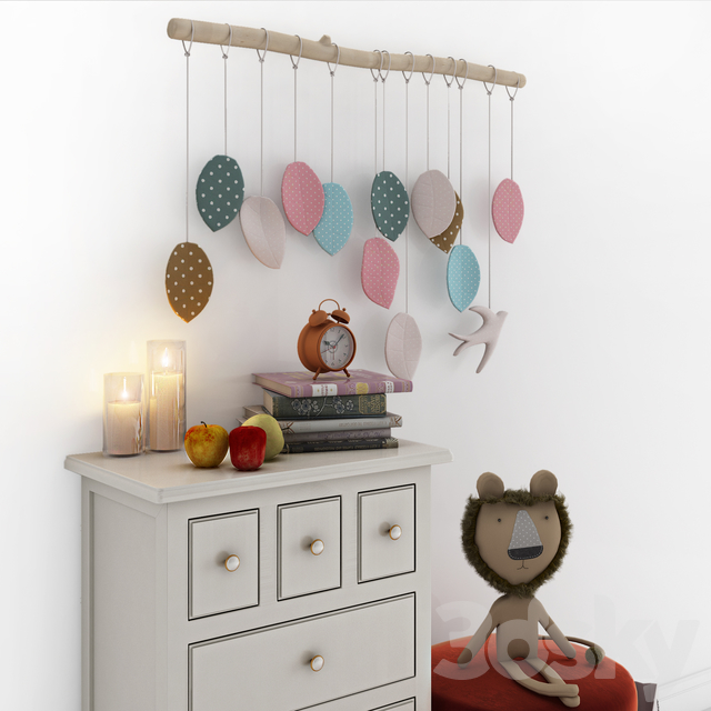 Children's furniture Adelina from the Russian brand Bookcase 04