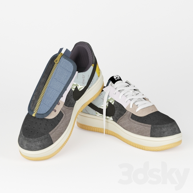 Nike Air Force 1 x Travis Scott Trainers