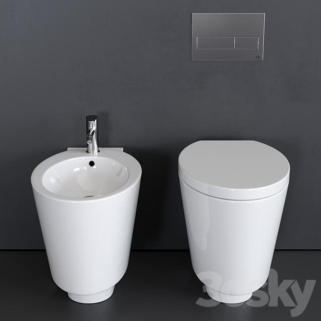 Scarabeo Ceramiche Wish WC