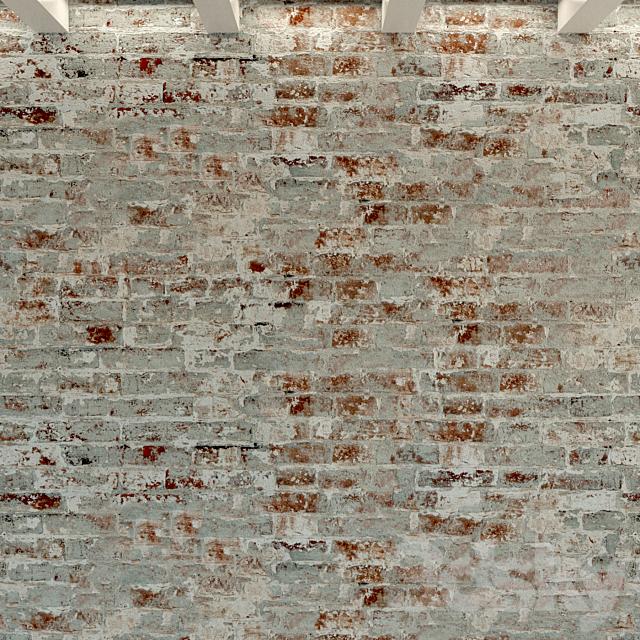Brick wall. Old brick. 101