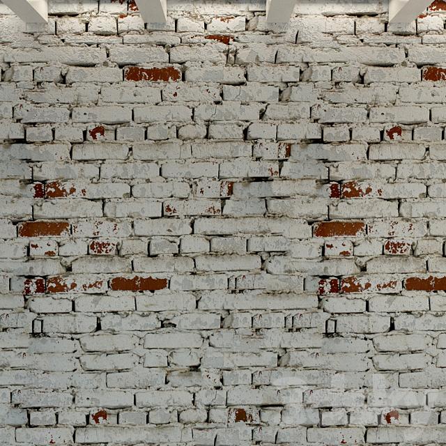 Brick wall. Old brick. 115