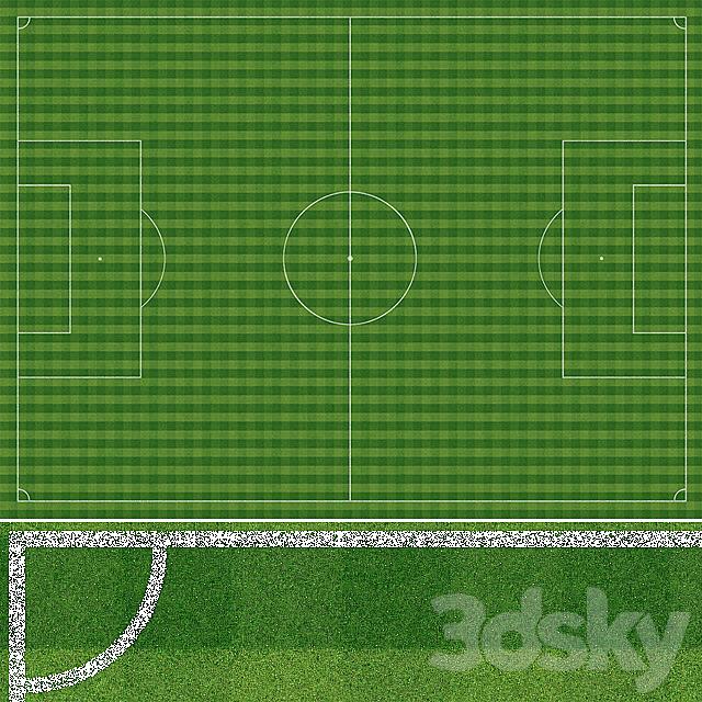 Footbal field texture