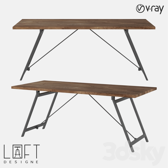 Table LoftDesigne 6604 model