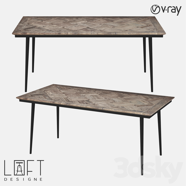 Table LoftDesigne 6852 model