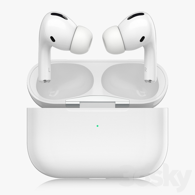3d Models Audio Tech Airpods Pro