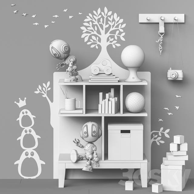 Toys and furniture set 70 (1 part)