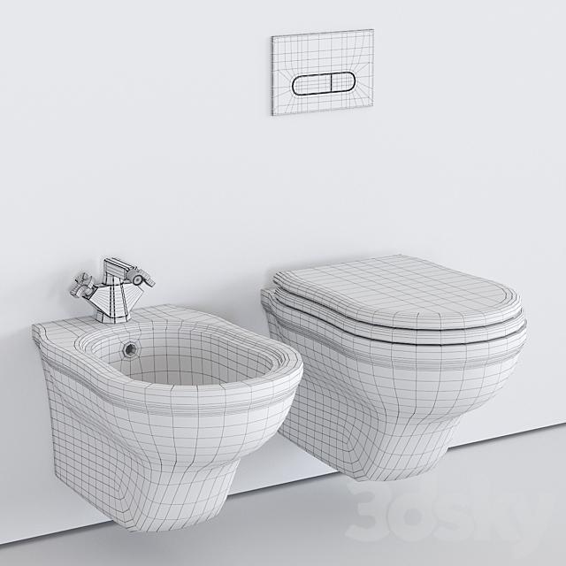 Ceramica Flaminia Efi Wall-Hung WC