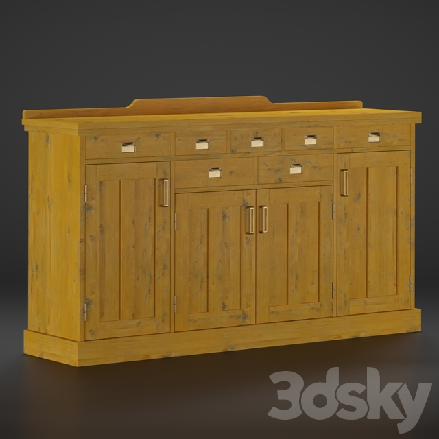 Yatch country cabinet