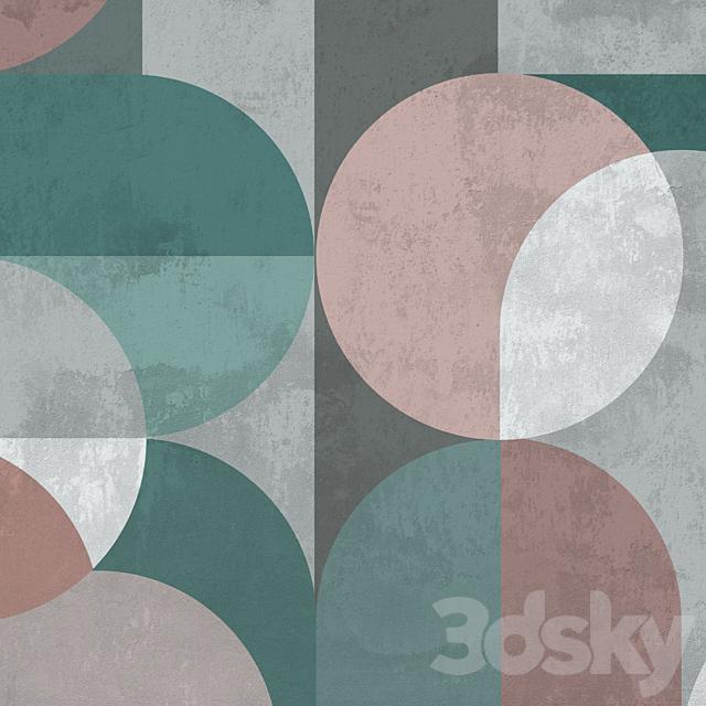 Creativille   Wallpapers   8112 Contemporary circles