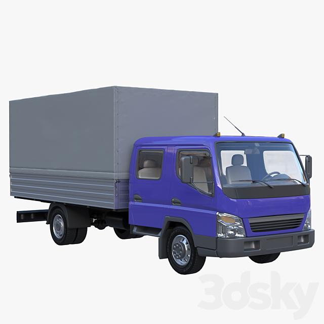 BAW Fenix 1065 truck double cab, tilt