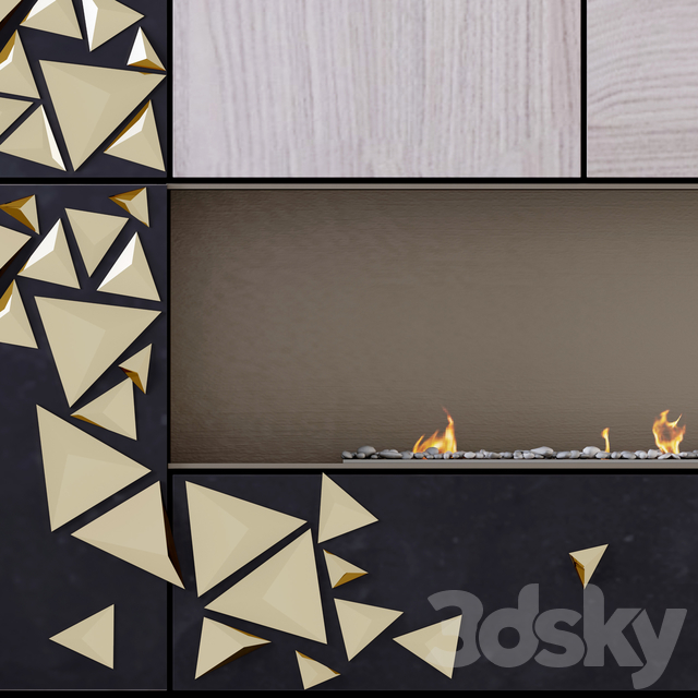 Fireplace and Firewood M13