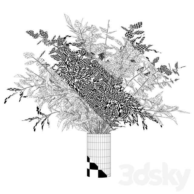 Branches in a vase 010