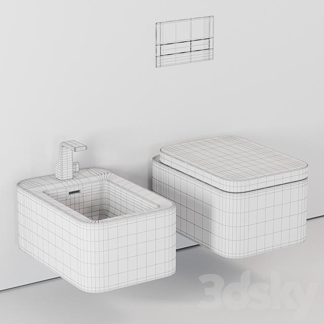Ceramica Flaminia Nile Wall-Hung WC
