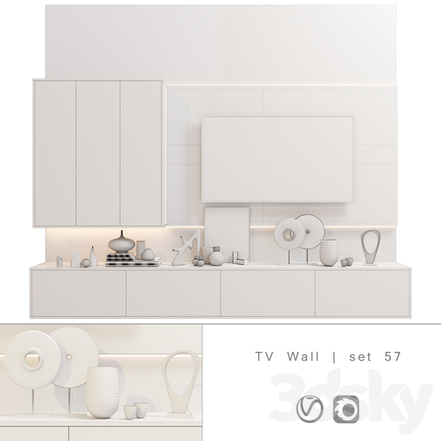 TV Wall | set 57