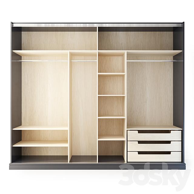 Wardrobe / compartment Harmony. Wardrobe by Medusa Home