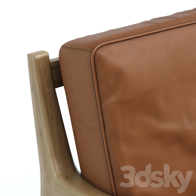 Armchair leather Dilma La Redoute