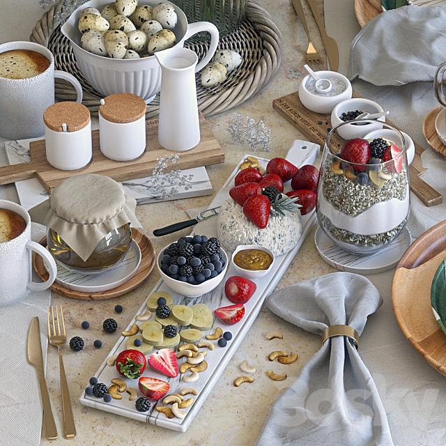Table setting 37. Breakfast - 4. Corona