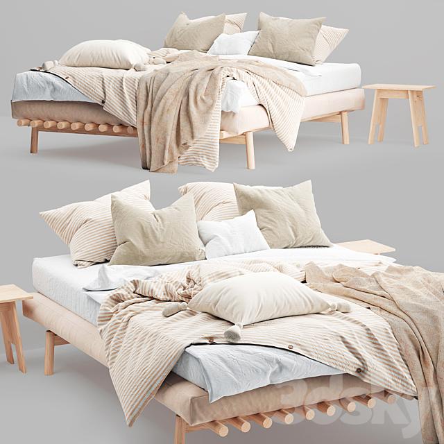 3d Models Bed Magic Linen Bed