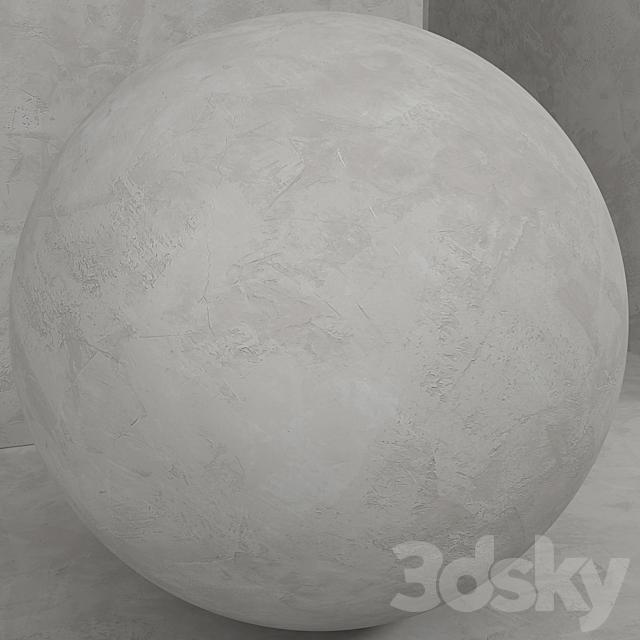 Material (seamless) - concrete plaster set 139