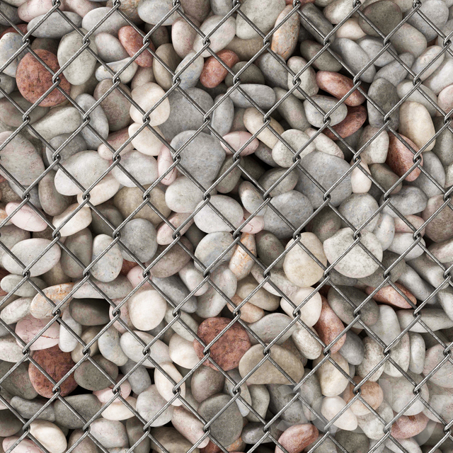 Gabion pebble low n6