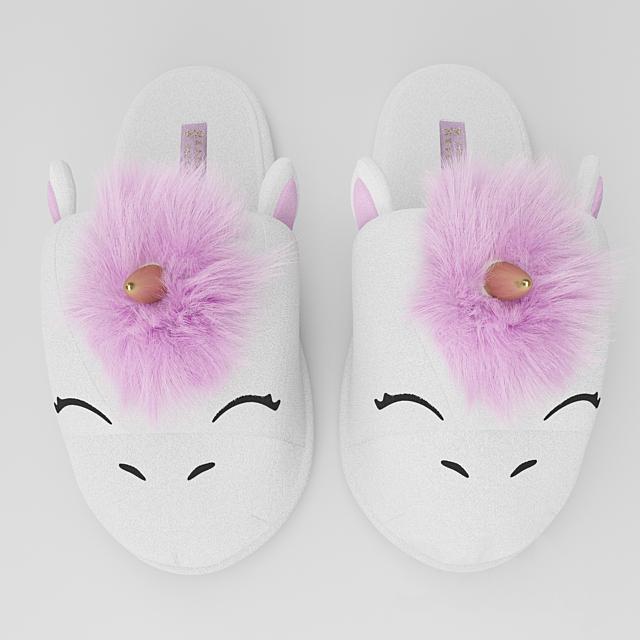 Unicorn Home Slippers Zara Home