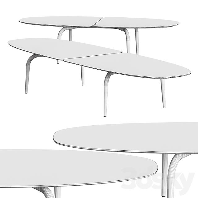 Zanotta Graphium Coffee Tables
