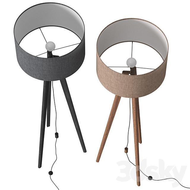Dema Edgar Tripod Floor Lamp